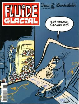 Cover for Fluide Glacial, by Jean-Yves Ferri