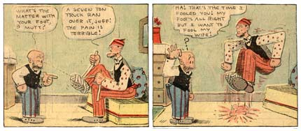 Mutt and Jeff, by Bud Fisher