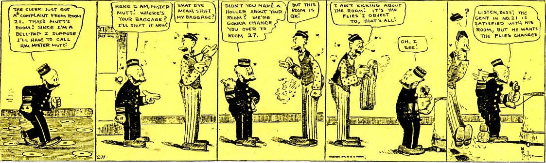 Mutt and Jeff by Bud Fisher