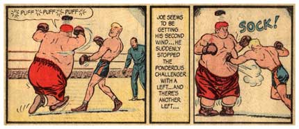 Joe Palooka, by Ham Fisher