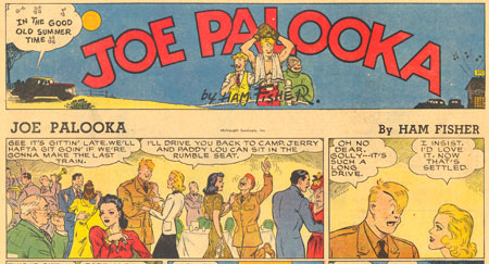 Joe Palooka by Ham Fisher