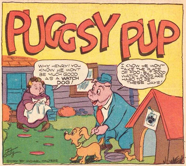 Puggsy Pup by Owen Fitzgerald