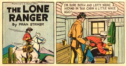 The Lone Ranger, by Charles Flanders (1948)