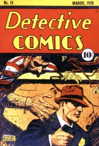 Detective Comics cover, by Creig Flessel (1938)
