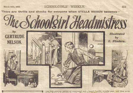 The Schoolgirl Headmistress by Evelyn Flinders
