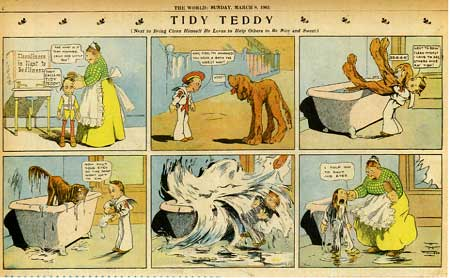 Tidy Teddy, by Foster Morse Follett