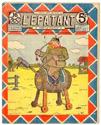 Cover for L'Épatant, by Louis Forton