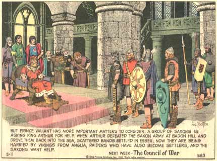 Prince Valiant, by Hal Foster, 1969