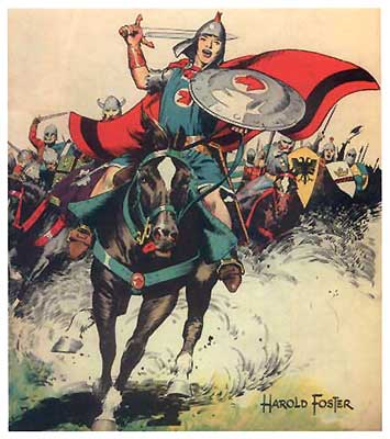 Prince Valiant, by Hal Foster