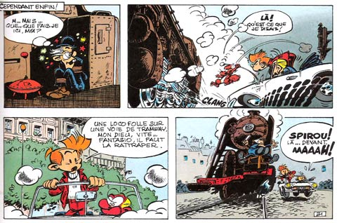 Spirou et Fantasio by Jean-Claude Fournier