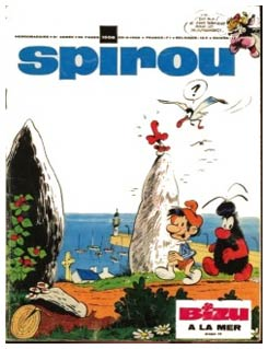 Spirou cover by Jean-Claude Fournier
