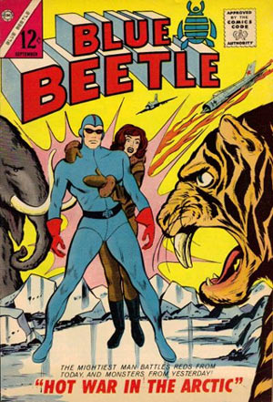 Blue Beetle by Bill Fraccio