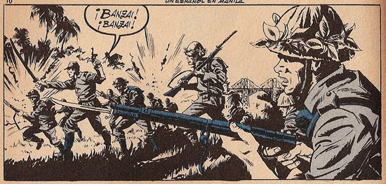 War comic by Rossend Franch