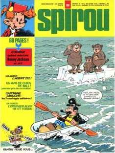 Cover for Spirou by Francis