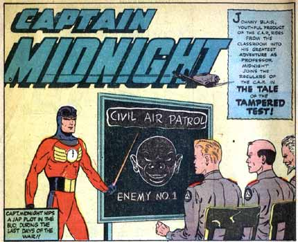 Captain Midnight, by Leonard Frank