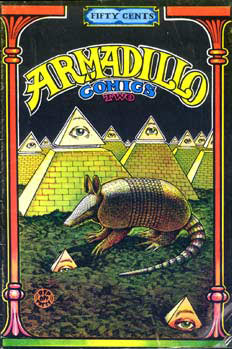Armadillo Comics, by Jim Franklin 1971