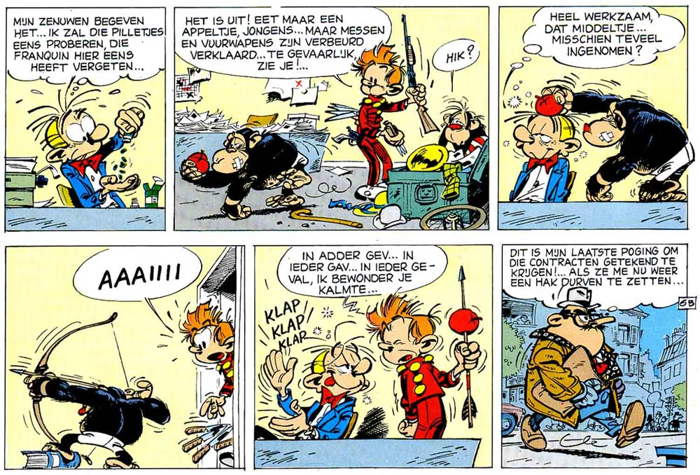 Bravo Brothers by Franquin