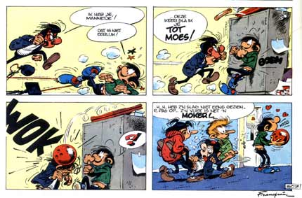 Gaston, by Franquin