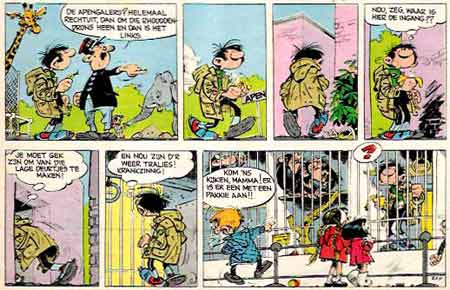 Gaston, by Franquin (1963)