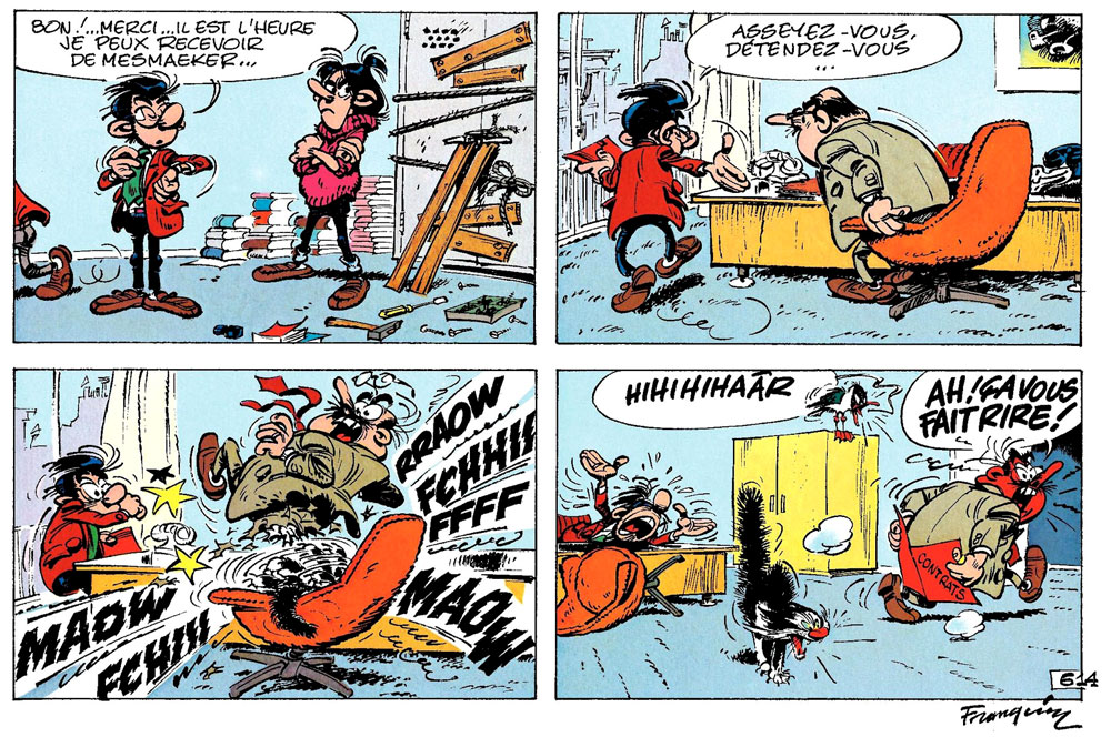 Gaston by Franquin
