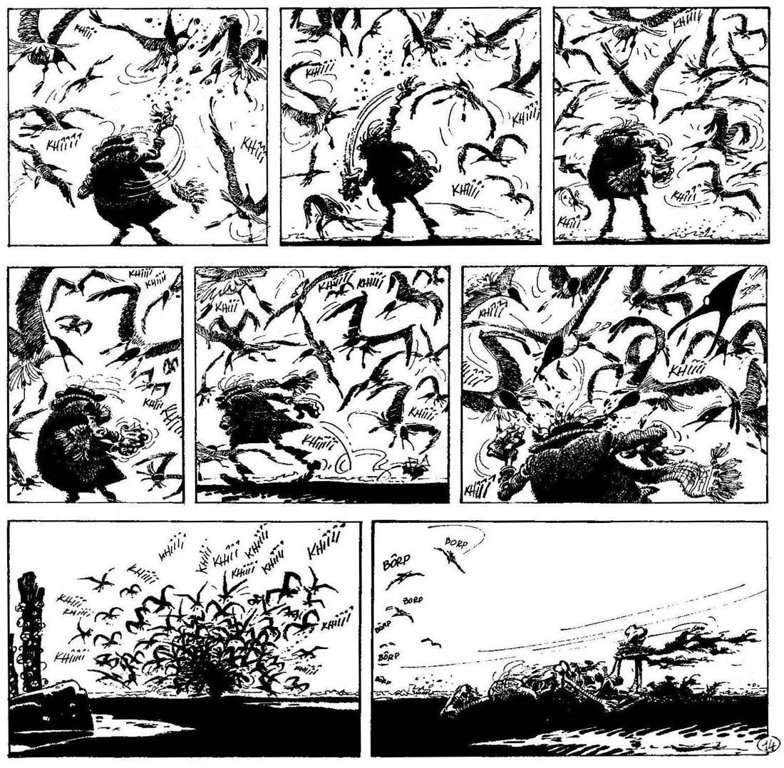 Idees Noires, by Franquin