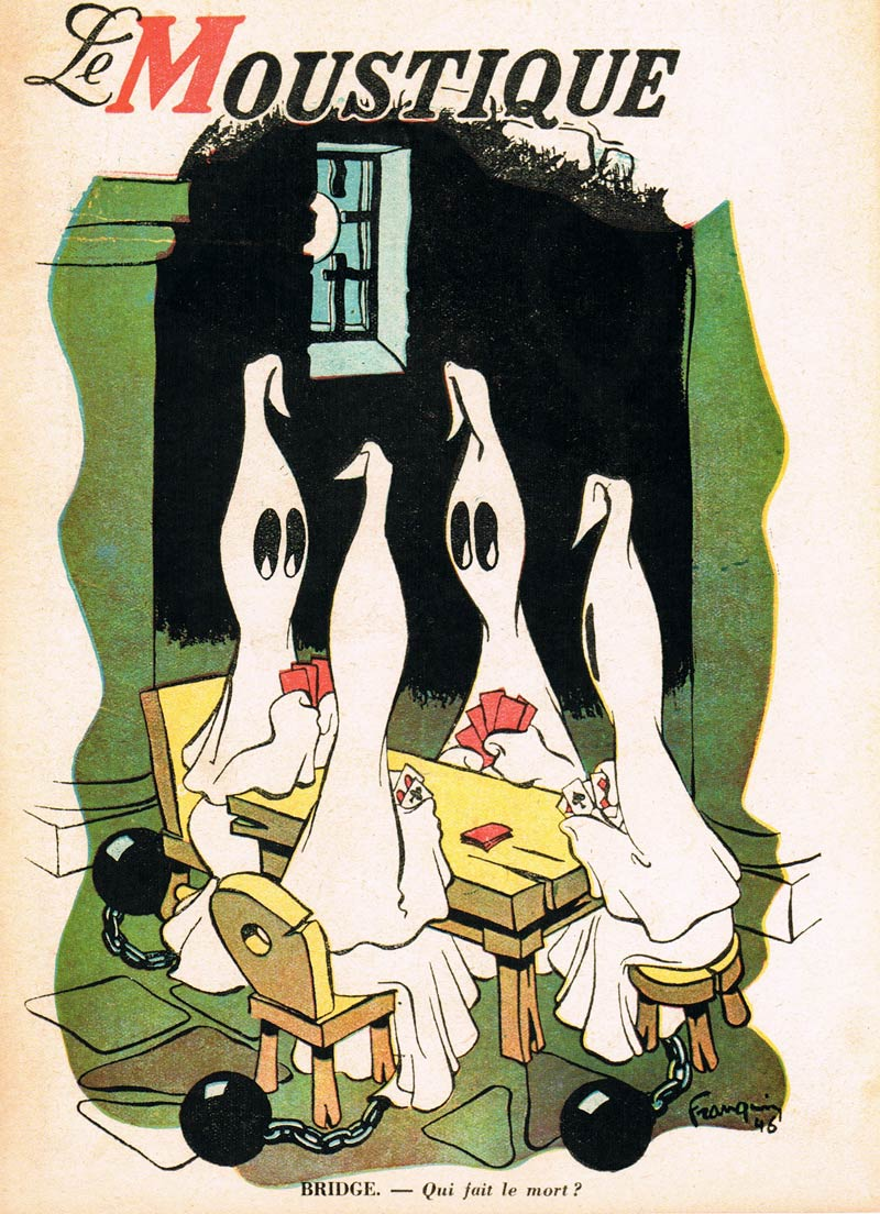 cover of Le Moustique, by Franquin