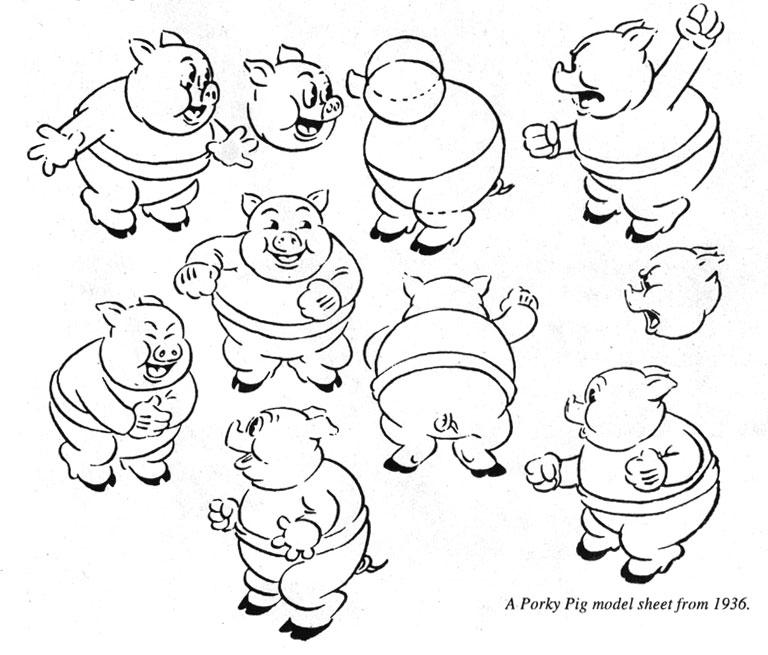 friz freleng 1920s Cat Cartoons porky pig by fritz freleng