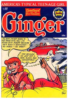 Ginger, by George Frese