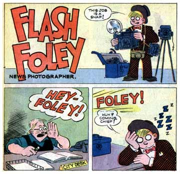 Flash Foley, by Paul Fung Jr.