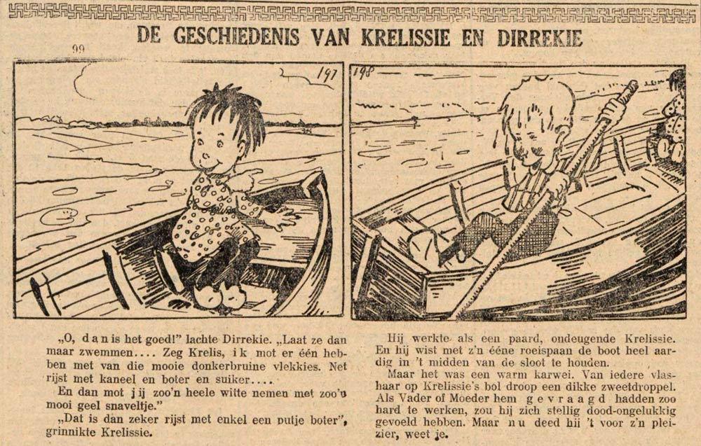 Krelissie en Dirrekie by Albert Funke Kupper