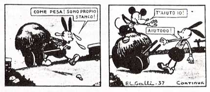 Topolino, by F. L. Galli