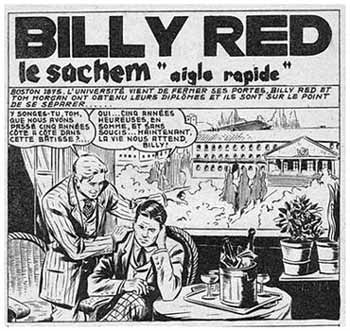 Billy Red, by Pietro Gamba
