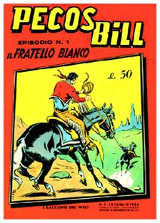 Pecos Bill by Pietro Gamba