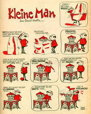 Kleine Man, by David Gantz (Strip, 1962)