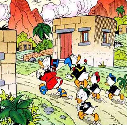 Donald Duck, by Luciano Gatto