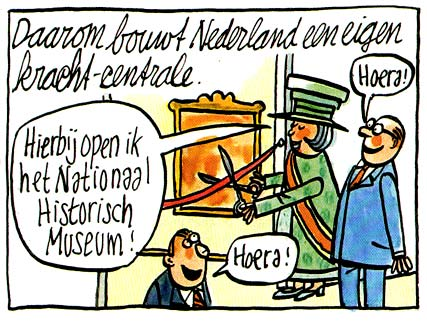 comic for Vrij Nederland by Pieter Geenen