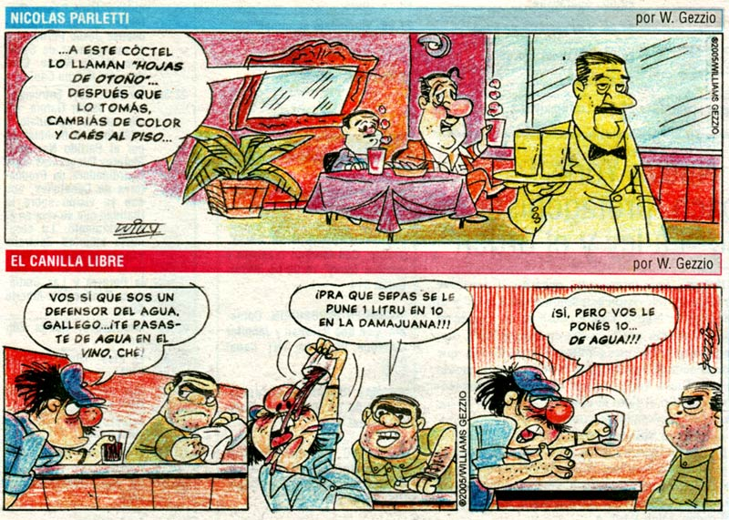 Comic strips by William Gezzio