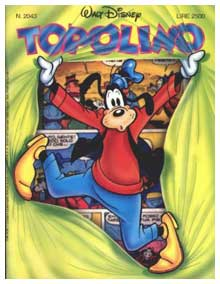 Cover for Topolino, by Marco Ghiglione