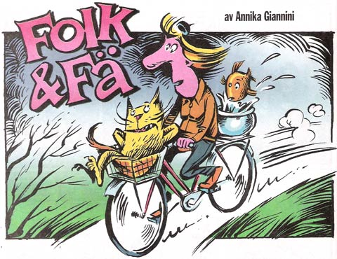 Folk & Fä by Annika Giannini