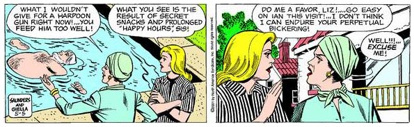Mary Worth, by Joe Giella