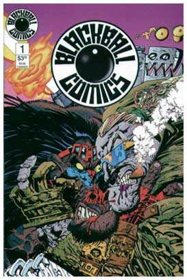 Blackbal comics, by Keith Giffen