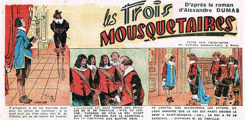 Les Trois Mousquetaires by Rene Giffey