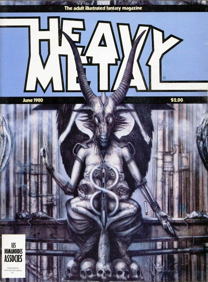 Cover by HR Giger
