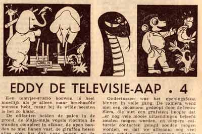 comic from Radiobode, presumably drawn by Henk Gijsbers
