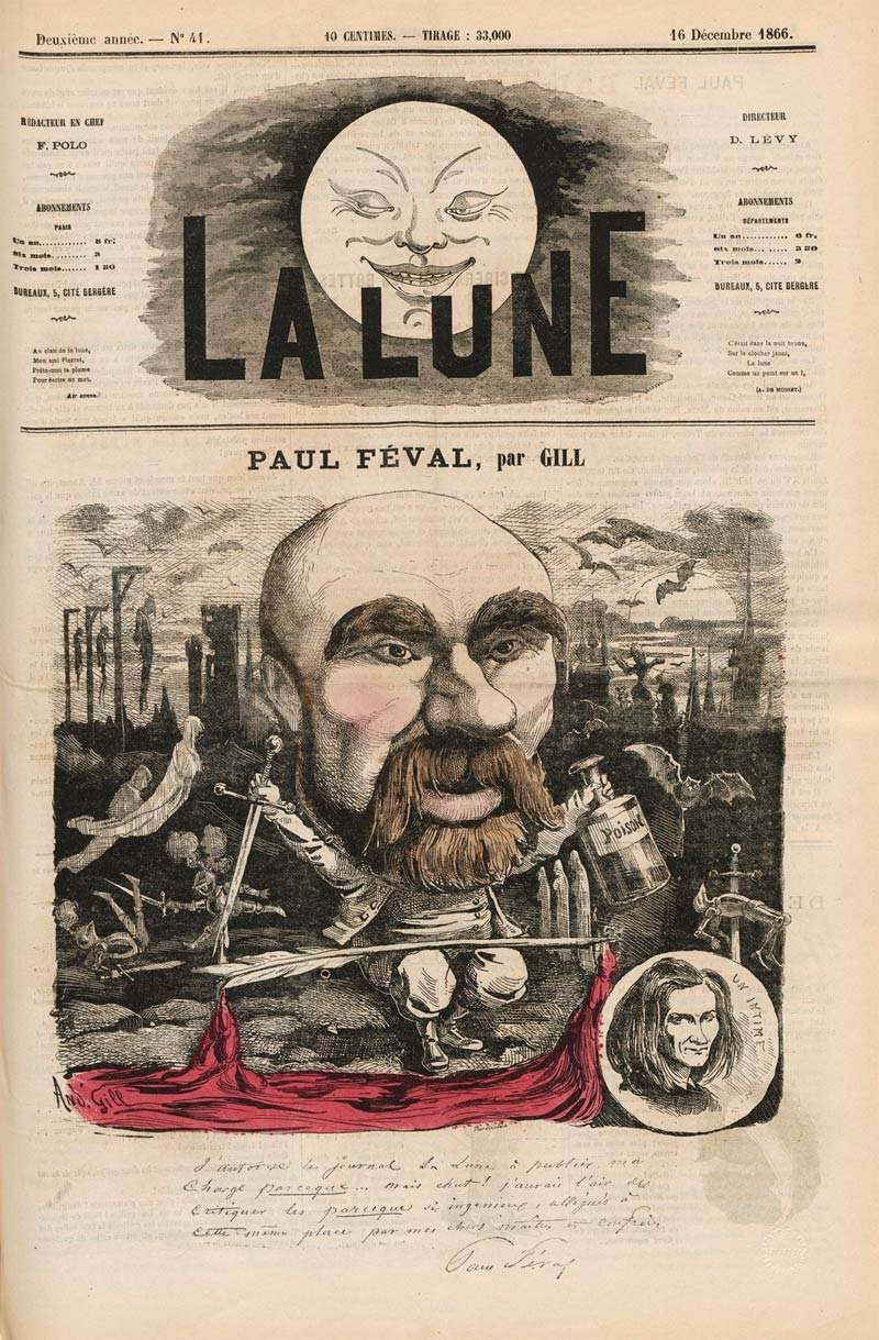 Cover for La Lune by André Gill