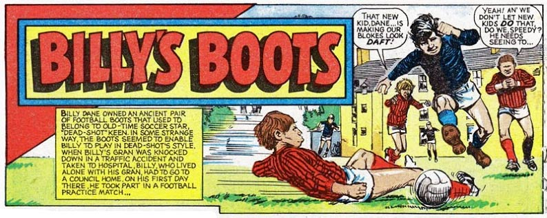 Image result for billy's boots comic strip