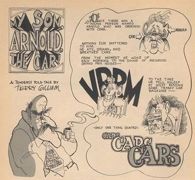 My Son Arnold the Car, by Terry Gilliam