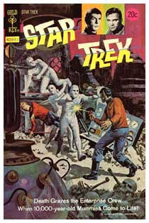 Star Trek, by Alberto Giolitti