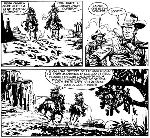 Tex Willer, by Alberto Giolitti