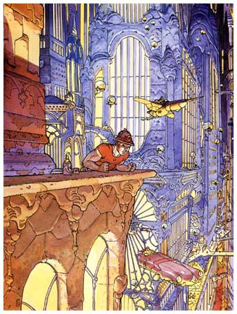 art by Moebius